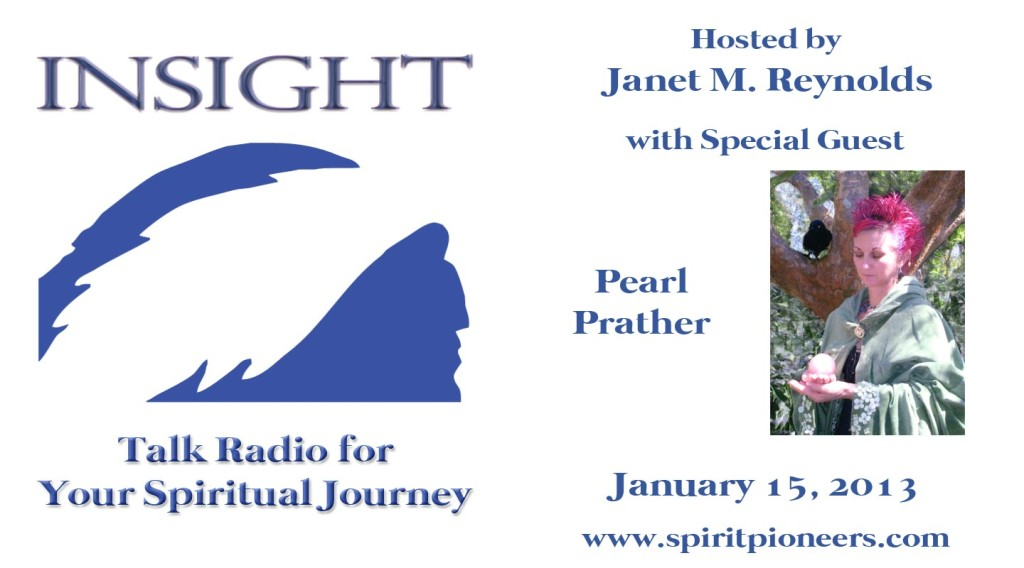 Insight with Pearl Prather Jan 15 2013