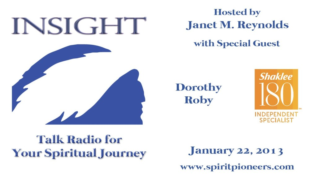 Insight Radio Show Jan 22 2013