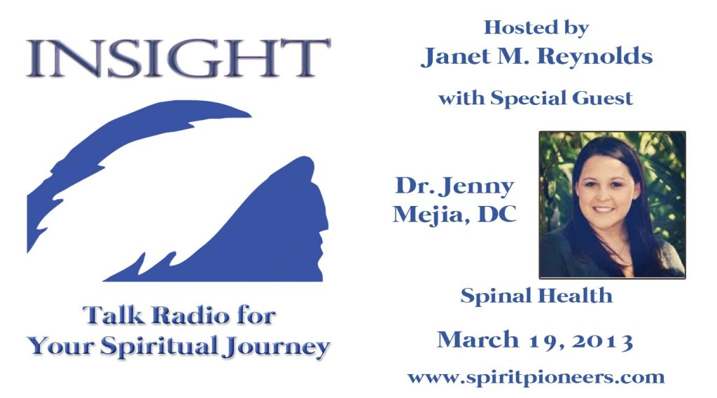 Insight intro for Dr Jenny Mejia DC