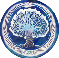 tree of life with serpent